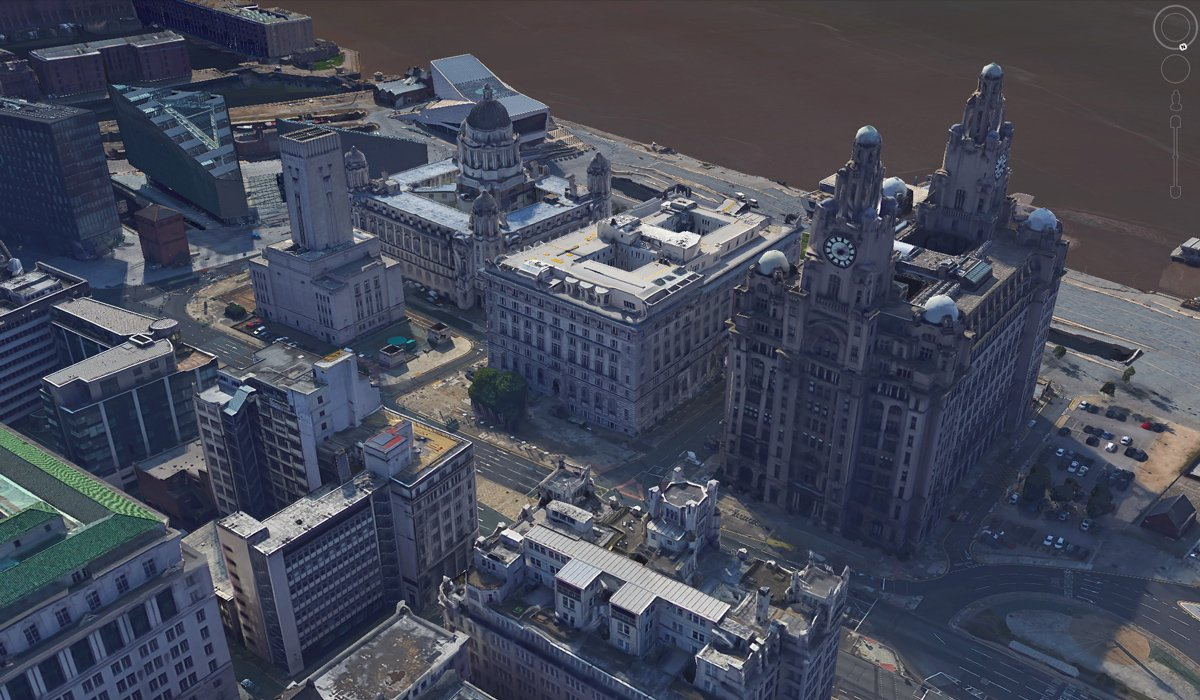 Google Earth Liverpool 3D